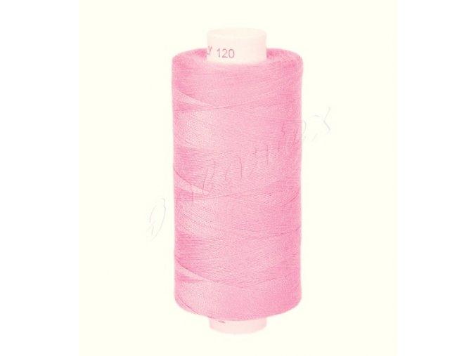 Šicí nit Unipoly 120 návin 500 m / 331 - světle růžová