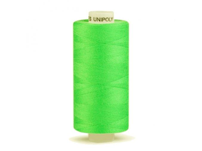 Šicí nit Unipoly 120 návin 500 m / 615 - jarní zeleň