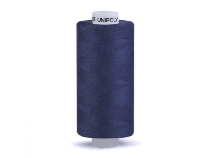 Šicí nit Unipoly 120 návin 500 m / 539 - vlajková modrá