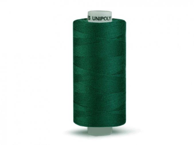 Šicí nit Unipoly 120 návin 500 m / 628 - tmavá zeleň