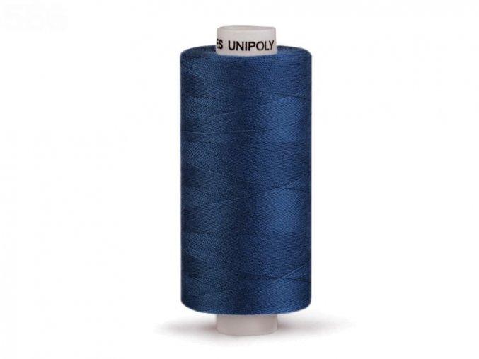 Šicí nit Unipoly 120 návin 500 m / 548 - sytě modrá