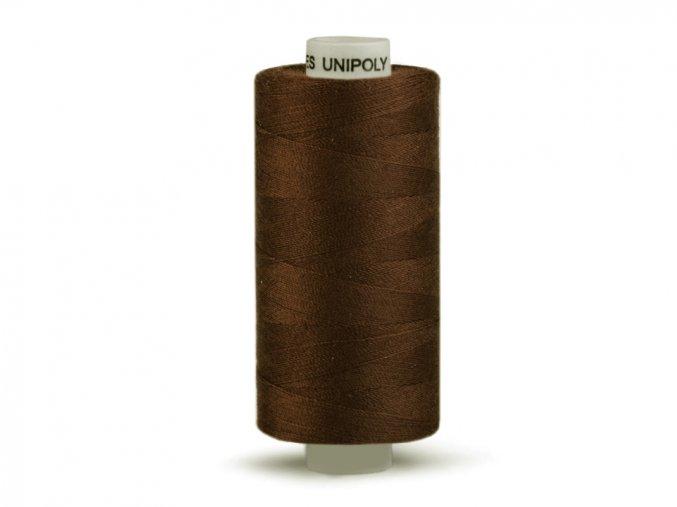 Šicí nit Unipoly 120 návin 500 m / 729 - tmavě hnědá