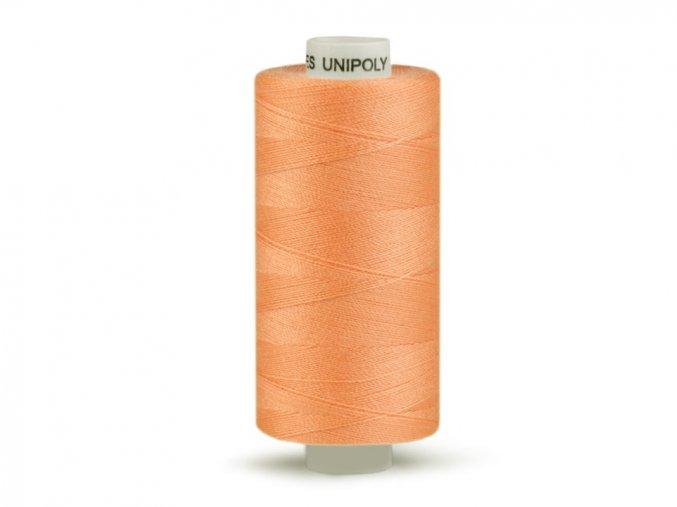 Šicí nit Unipoly 120 návin 500 m / 323 - lososová