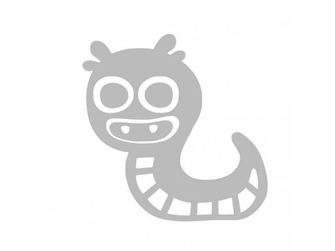 Reflexní nažehlovací potisk - monster III