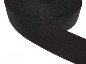 Pruženka plochá 50 mm - černá