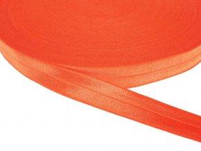 Pruženka lemovací šíře 20 mm - oranžová