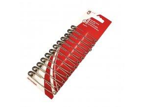 Špendlíky spínací 60 mm (12 kusů)
