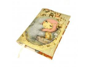 Nastavitelný obal na knihu - Mirabelle Adrift VII.