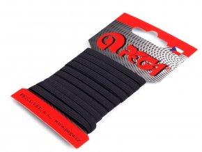Pruženka prádlová 6,6 mm - černá (5 metrů)