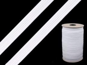 Pruženka prádlová 14 mm - bílá