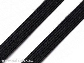 Pruženka plochá 15 mm - černá