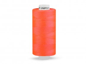 Šicí nit Unipoly 120 návin 500 m / 215 - neonově oranžová