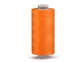 Šicí nit Unipoly 120 návin 500 m / 224 - tmavě oranžová