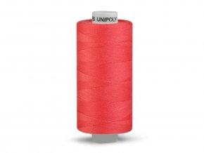 Šicí nit Unipoly 120 návin 500 m / 334 - světle červená