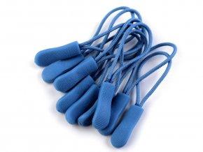 Poutko / taháček na zip - modrá