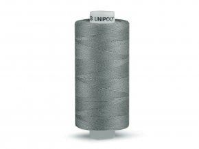 Šicí nit Unipoly 120 návin 500 m / 852 - ocelově šedá