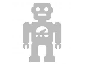 Reflexní nažehlovací potisk - robot