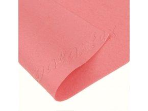 Dekorativní plsť 20x30cm 165g-m² - růžová