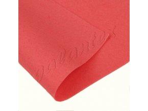 Dekorativní plsť 20x30cm 165g-m² - růžovočervená