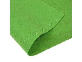 Dekorativní plsť 20x30cm 165g-m² - zelená hrášková