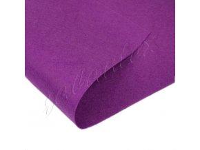Látková dekorativní plsť 20x30cm - fialová