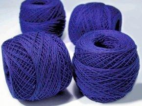 Háčkovací příze Kordonet 30 / 5574 - modrá