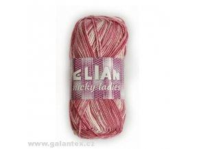 Pletací příze Elian Nicky ladies / 441 - růžová