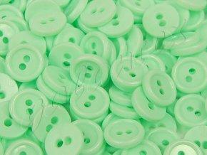 """Knoflík košilový 18"""" - zelenkavý (10ks)"""