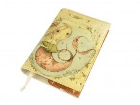 Nastavitelný obal na knihu - Mirabelle Adrift III.