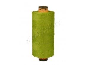 Polyesterová šicí nit Belfil-S 120 1000m / 1146 - žlutozelená