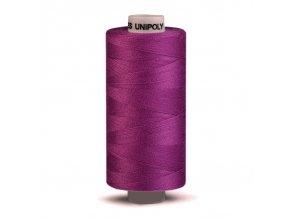Šicí nit Unipoly 120 návin 500 m / 447 - fialová