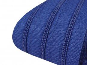 Zip spirálový 3 mm metráž - modrý