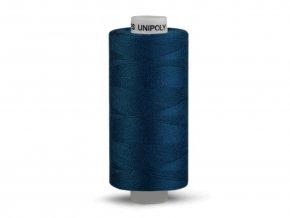 Šicí nit Unipoly 120 návin 500 m / 588 - námořní modrá