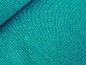 Náplet / patent žebro - smaragdová