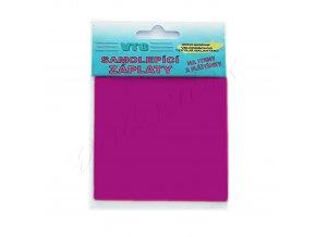 Záplata samolepící - fialová