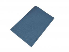 Zažehlovací záplaty kepr - kovově modrá