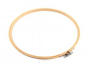 Vyšívací kruh bambusový Ø20 cm