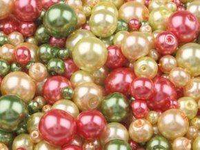 Voskované perly 4-12mm MIX kulička (30g)