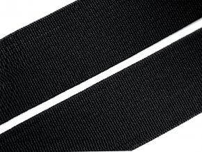 Pruženka plochá 25 mm - černá