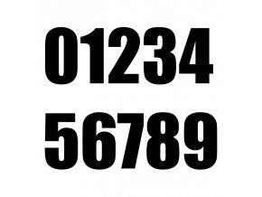 číslaIMPACTčerná
