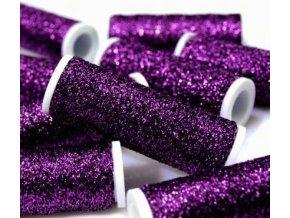 Lurexová vyšívací nit Metalux 60m / 31 - fialová
