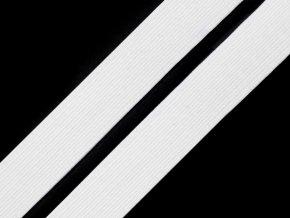 Pruženka prádlová 16 mm - bílá