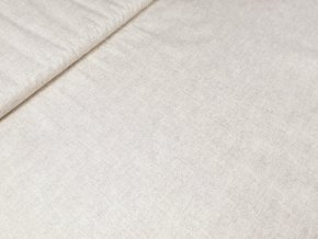 Bavlněné plátno - režný efekt béžový