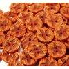 """Knoflík dětský 26"""" Květina - oranžový"""