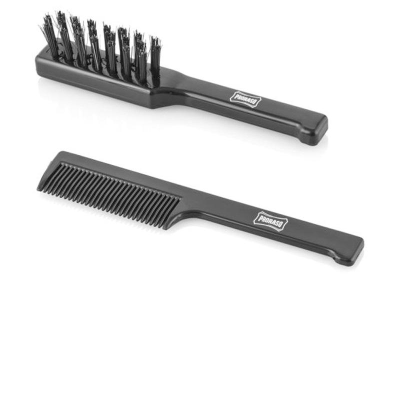 Hřebeny, kartáče a nůžky na vousy