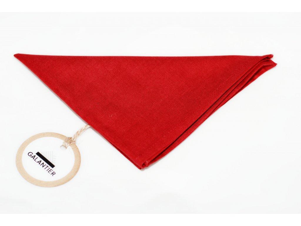 2958 cerveny kapesnicek do klopy
