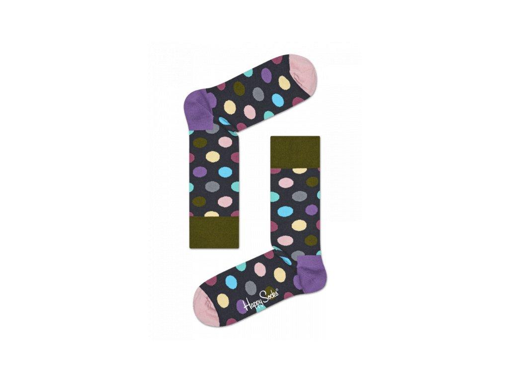 PASTEL DOTS barevné ponožky Happy Socks