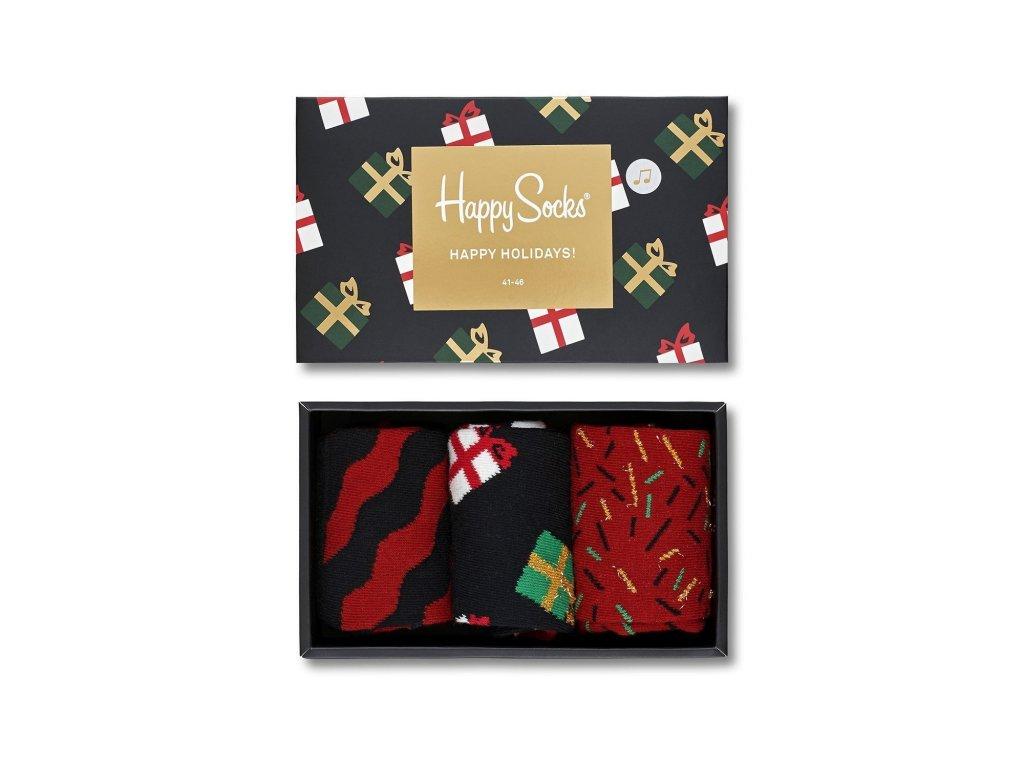 29a24a5f38b Vánoční barevné ponožky XMAS08-7001 co hrají - Galantier.cz
