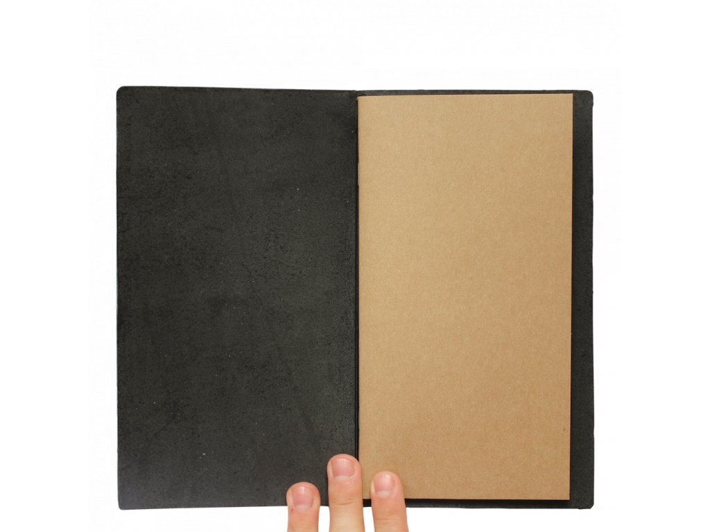 Traveler's Notebook - černý