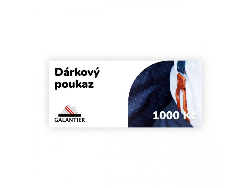 Poukaz 1000